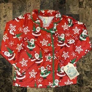 Santa clause pajama set